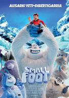 Smallfoot - Spanish Movie Poster (xs thumbnail)
