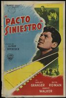 Strangers on a Train - Argentinian Movie Poster (xs thumbnail)