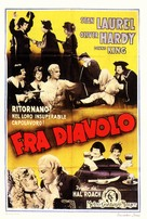 The Devil's Brother - Italian Movie Poster (xs thumbnail)