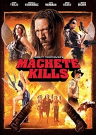 Machete Kills - DVD cover (xs thumbnail)