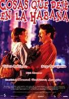 Cosas que dejé en La Habana - Spanish poster (xs thumbnail)
