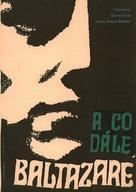 Au hasard Balthazar - Czech Movie Poster (xs thumbnail)
