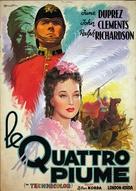 The Four Feathers - Italian Movie Poster (xs thumbnail)