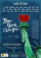 New York, I Love You - New Zealand Movie Poster (xs thumbnail)