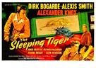 The Sleeping Tiger - British Movie Poster (xs thumbnail)