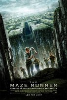 The Maze Runner - Danish Movie Poster (xs thumbnail)