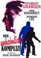 The Secret Partner - German DVD movie cover (xs thumbnail)