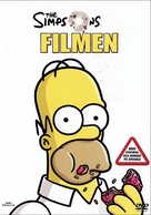The Simpsons Movie - Swedish Movie Cover (xs thumbnail)