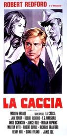 The Chase - Italian Movie Poster (xs thumbnail)