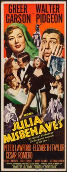 Julia Misbehaves - Movie Poster (xs thumbnail)