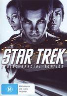Star Trek - Australian DVD movie cover (xs thumbnail)