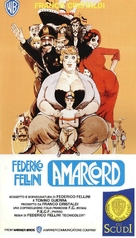 Amarcord - Italian VHS movie cover (xs thumbnail)