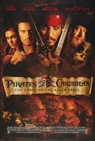 Pirates of the Caribbean: The Curse of the Black Pearl - Movie Poster (xs thumbnail)