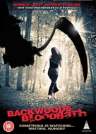 Backwoods Bloodbath - British DVD cover (xs thumbnail)