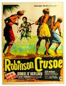 Robinson Crusoe - Mexican Movie Poster (xs thumbnail)