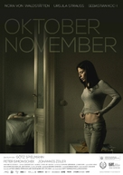 Oktober November - German Movie Poster (xs thumbnail)