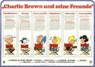 A Boy Named Charlie Brown - German Movie Poster (xs thumbnail)