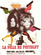 La ragazza con la pistola - French Movie Poster (xs thumbnail)