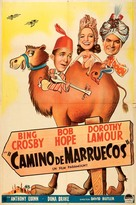 Road to Morocco - Argentinian Movie Poster (xs thumbnail)