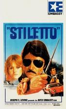 Stiletto - German VHS movie cover (xs thumbnail)