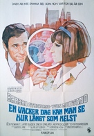 On a Clear Day You Can See Forever - Swedish Movie Poster (xs thumbnail)