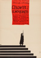The Man with the Gun - Polish Movie Poster (xs thumbnail)