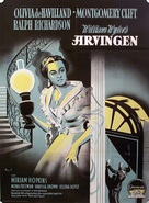 The Heiress - Danish Movie Poster (xs thumbnail)