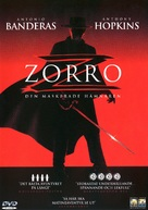 The Mask Of Zorro - Swedish Movie Cover (xs thumbnail)