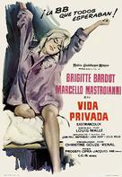 Vie privée - Spanish Movie Poster (xs thumbnail)
