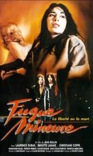 Les paumées du petit matin - French VHS cover (xs thumbnail)