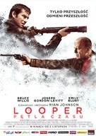 Looper - Polish Movie Poster (xs thumbnail)