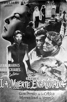 Orphée - Spanish Movie Poster (xs thumbnail)