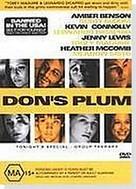 Don's Plum - Australian DVD movie cover (xs thumbnail)