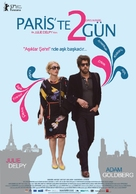 2 Days in Paris - Turkish Movie Poster (xs thumbnail)
