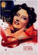 Sunset Blvd. - German Movie Poster (xs thumbnail)