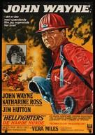 Hellfighters - Italian Movie Poster (xs thumbnail)