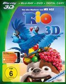 Rio - German Blu-Ray cover (xs thumbnail)