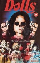 Dolls - British VHS cover (xs thumbnail)