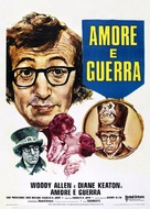 Love and Death - Italian Theatrical poster (xs thumbnail)