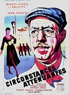 Circonstances attènuantes - French Movie Poster (xs thumbnail)