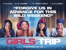Girls Trip - British Movie Poster (xs thumbnail)