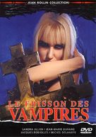 Le frisson des vampires - French DVD cover (xs thumbnail)