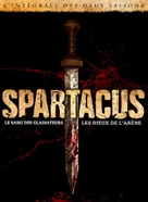 """Spartacus: Gods of the Arena"" - French DVD movie cover (xs thumbnail)"