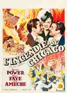 In Old Chicago - Belgian Movie Poster (xs thumbnail)