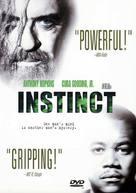 Instinct - DVD cover (xs thumbnail)
