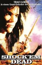 Shock 'Em Dead - German DVD movie cover (xs thumbnail)