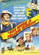 She Wore a Yellow Ribbon - DVD cover (xs thumbnail)