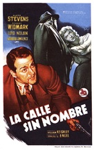 The Street with No Name - Spanish Movie Poster (xs thumbnail)