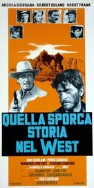Quella sporca storia nel west - Italian Movie Poster (xs thumbnail)