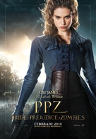 Pride and Prejudice and Zombies - Italian Movie Poster (xs thumbnail)